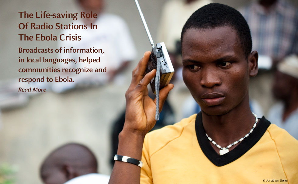 The Life-saving Role of Radio Stations in the Ebola Crisis